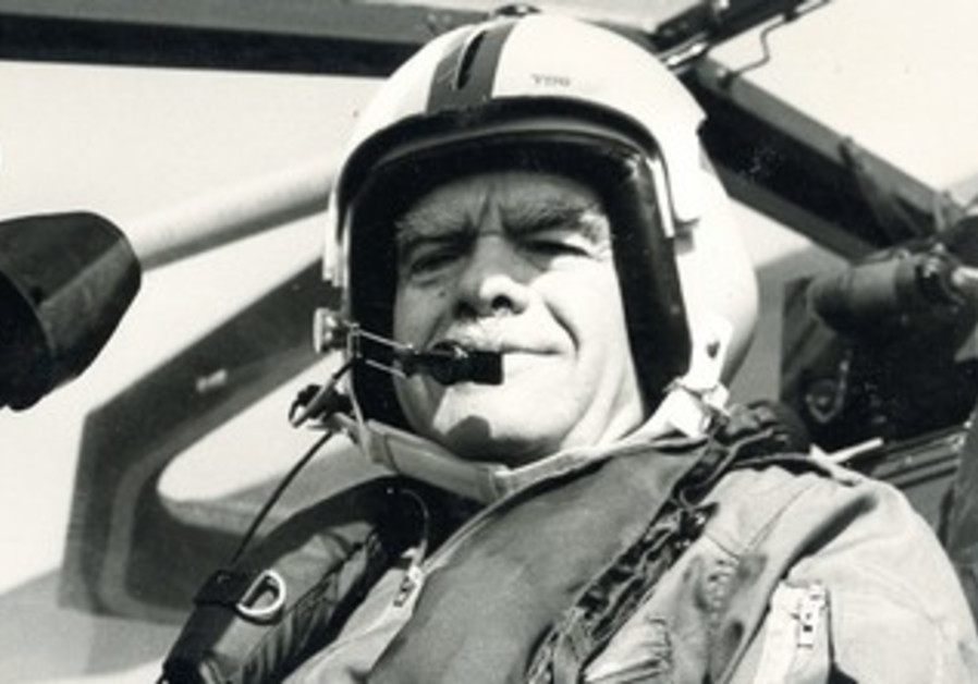 Shamir in cockpit of Cobra helicopter gunship