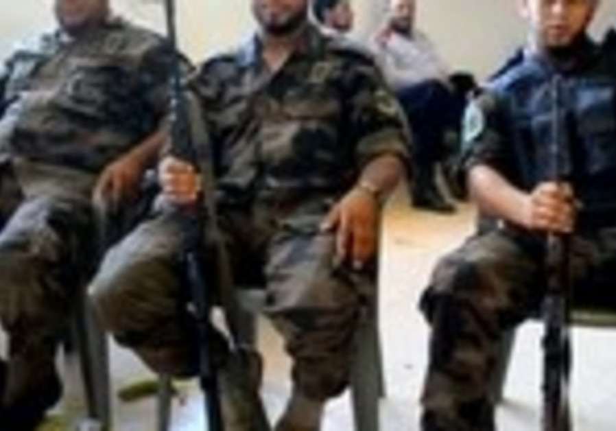 Libyan security officials