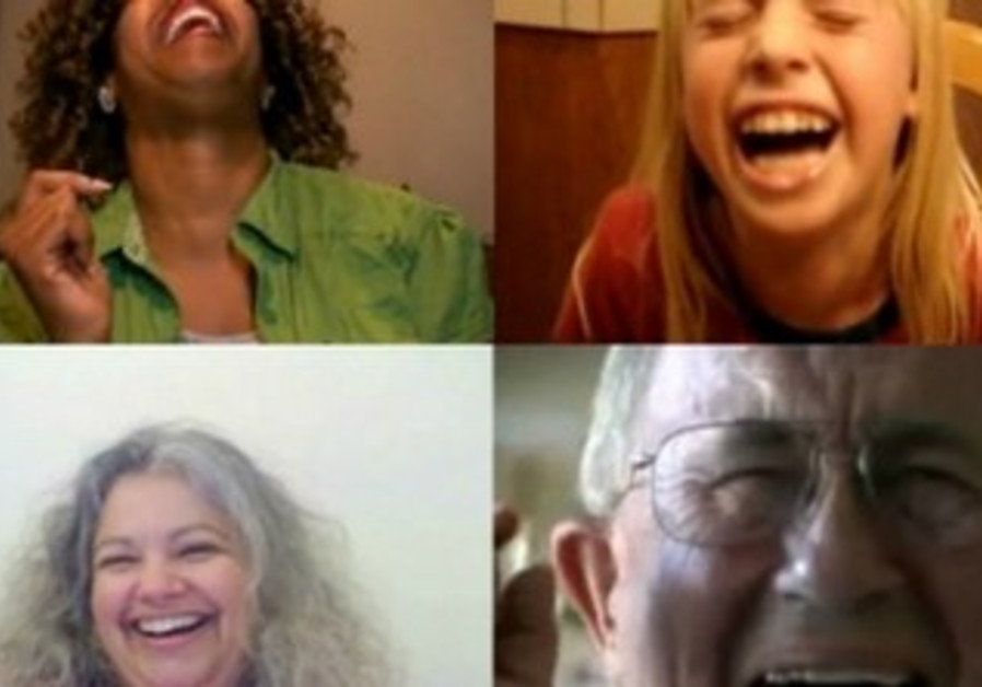 People laughing