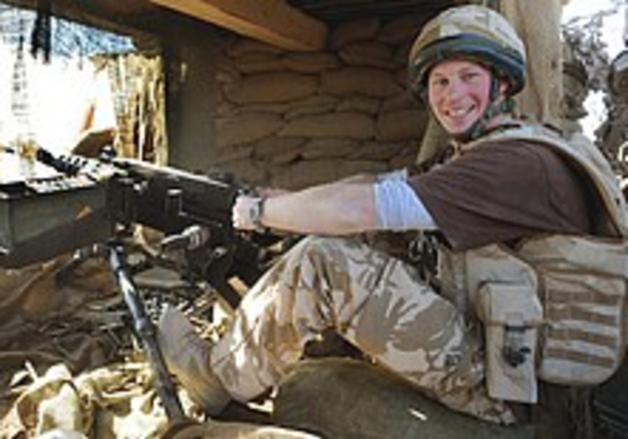UK says Prince Harry being withdrawn from Afghanistan
