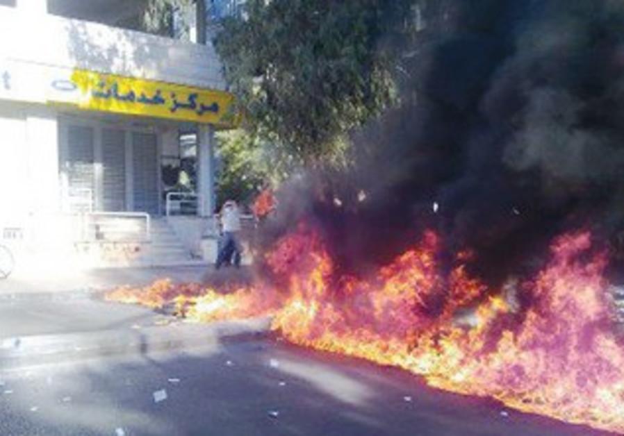 Anti-Assad demonstration in Damascus