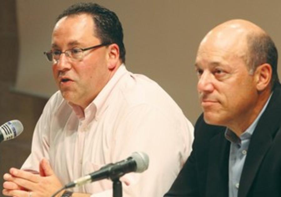 ARI FLEISCHER (left) and Matt Brooks