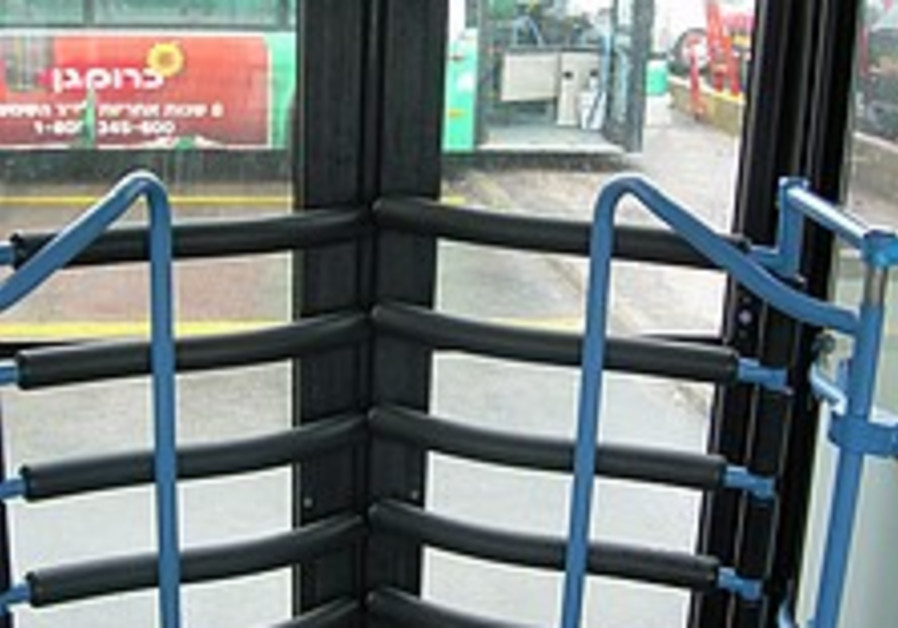 Suicide bomber-proof buses tested in Jerusalem