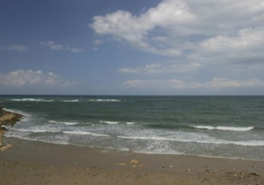 An Israeli beach [illustrative photo]