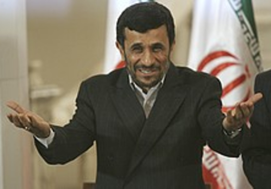 Behind the Lines: Ahmadinejad's media blitz, and polls apart