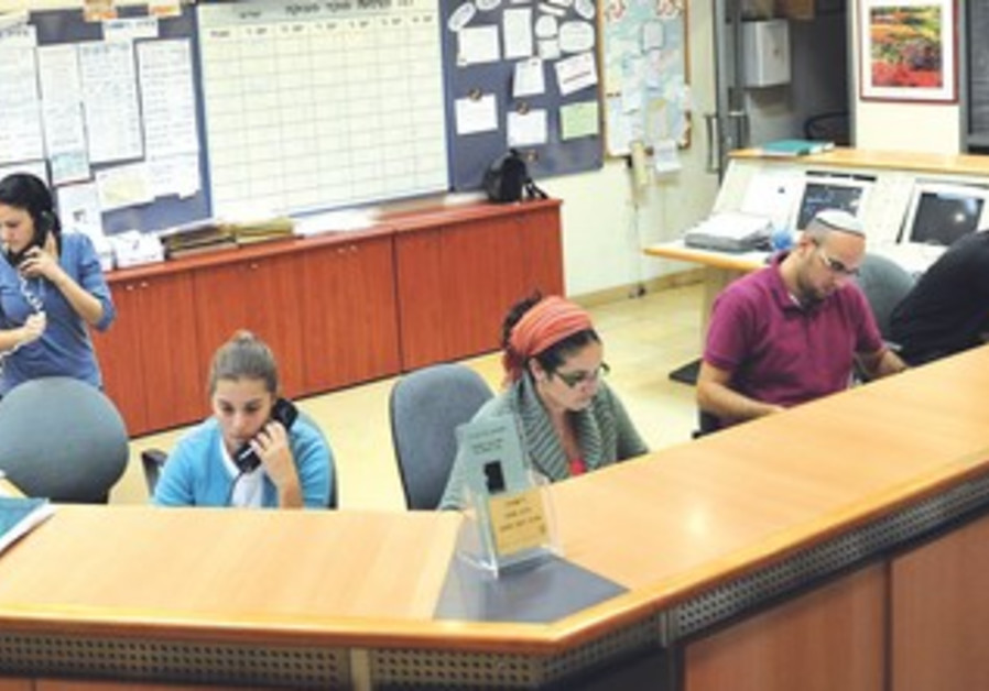 Immediate communications service center