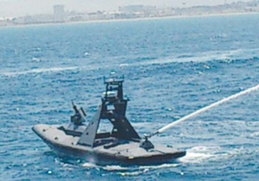 'Protector' unmanned ship