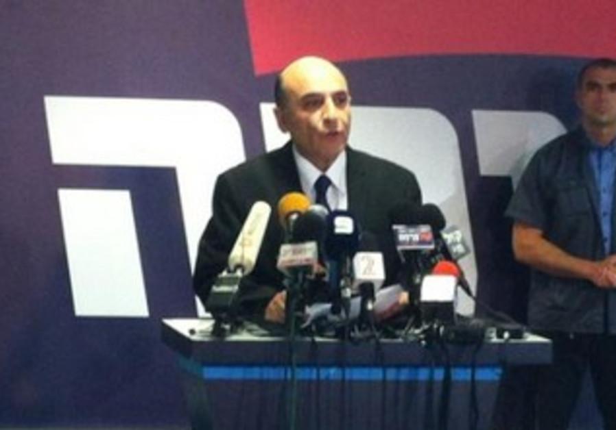 Kadima leader Shaul Mofaz quits coalition