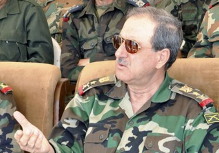 Syrian Defense Minister Daoud Rajha