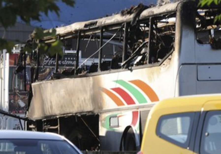 Bulgaria bus bomb.