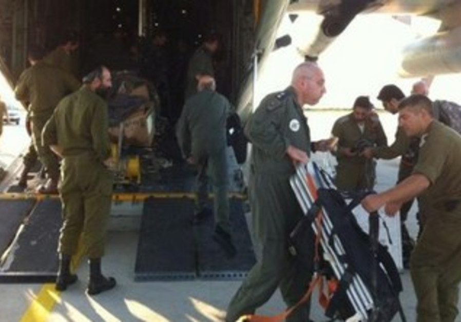 IDF team lands in Bulgaria to bring home wounded