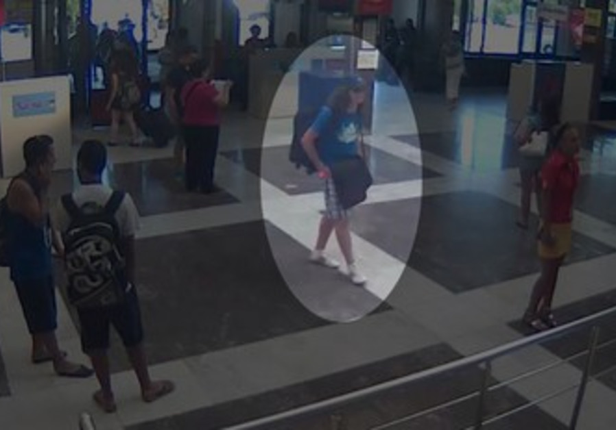 CCTV capture of suspected bomber .