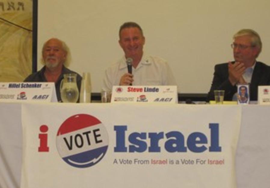 Tel Aviv US presidential debate