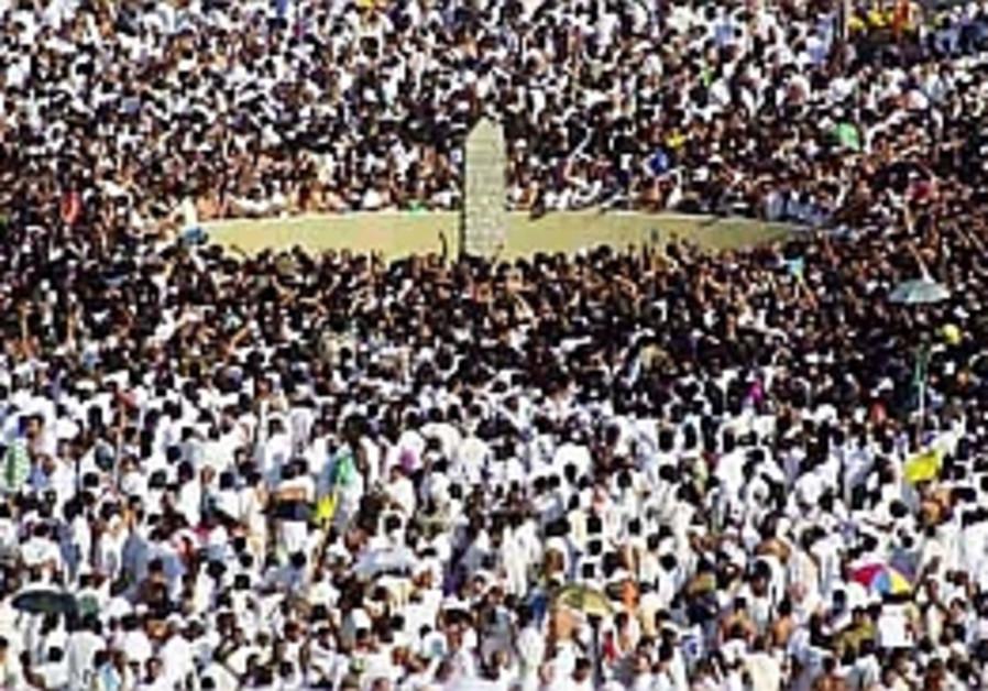 mecca pilgrims haj islam moslems