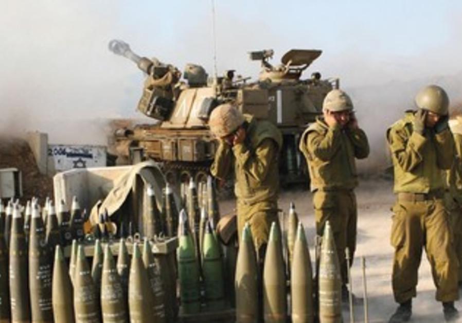 IDF ARTILLERY during Second Lebanon War