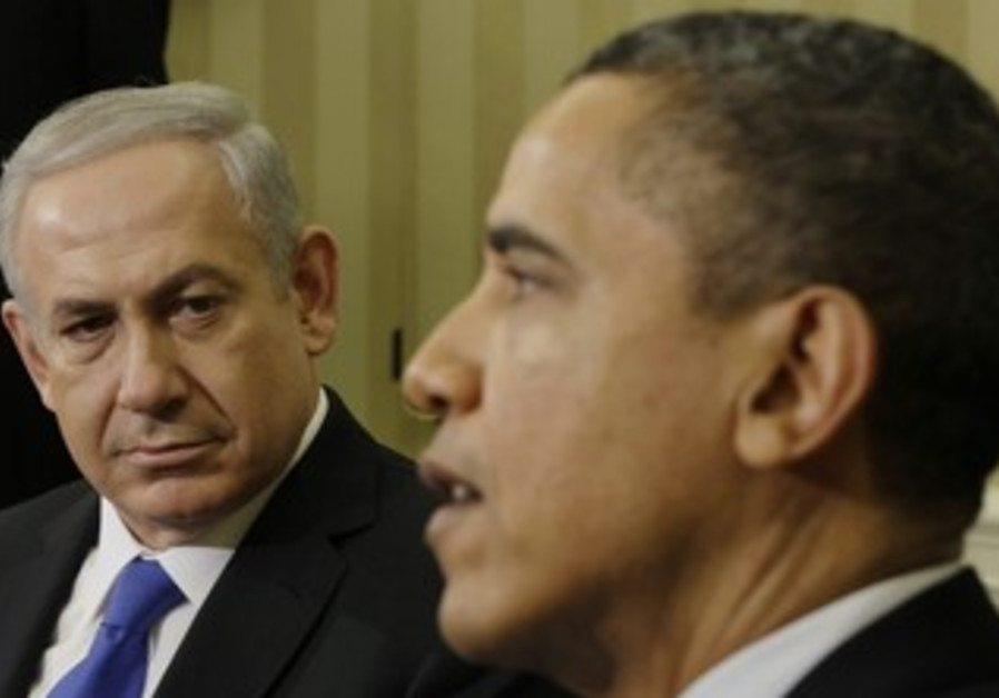 US President Obama, PM Netanyahu at White House