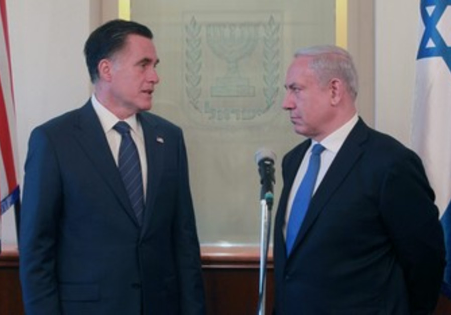 Netanyahu not meeting Romney due to Passover vacation, PMO says