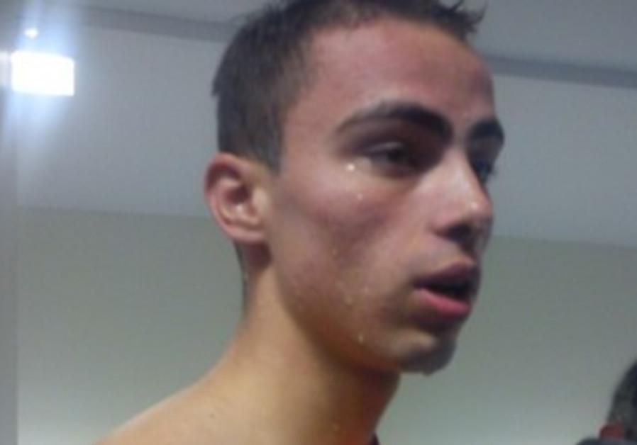 Yakov Toumarkin after swimming final