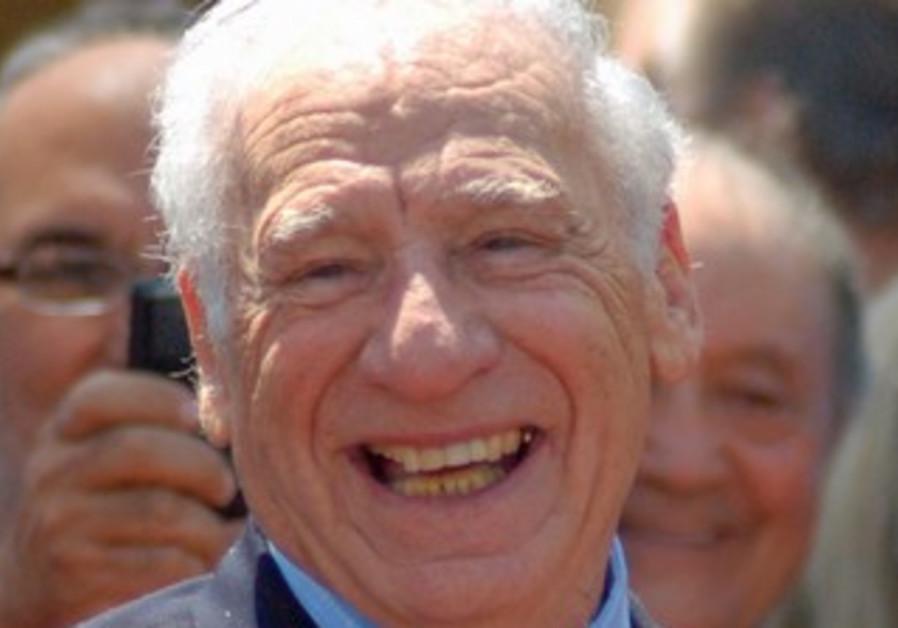 Award-winning filmmaker Mel Brooks