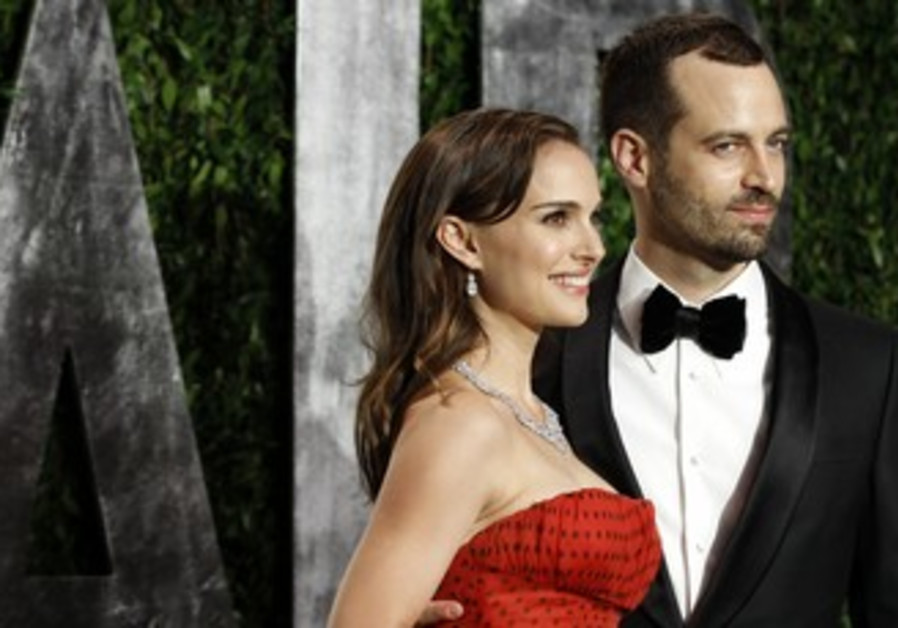 Natalie Portman and her fiance Millepied