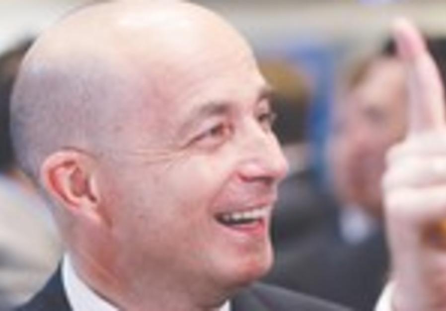 Teva CEO JEREMY LEVIN