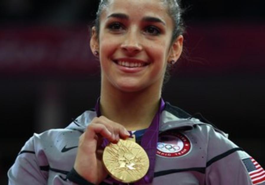 US Gymnast Raisman wins gold medal