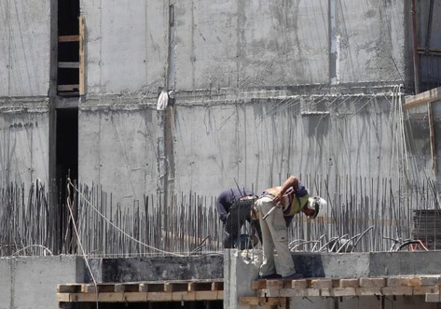 Construction site in Jerusalem