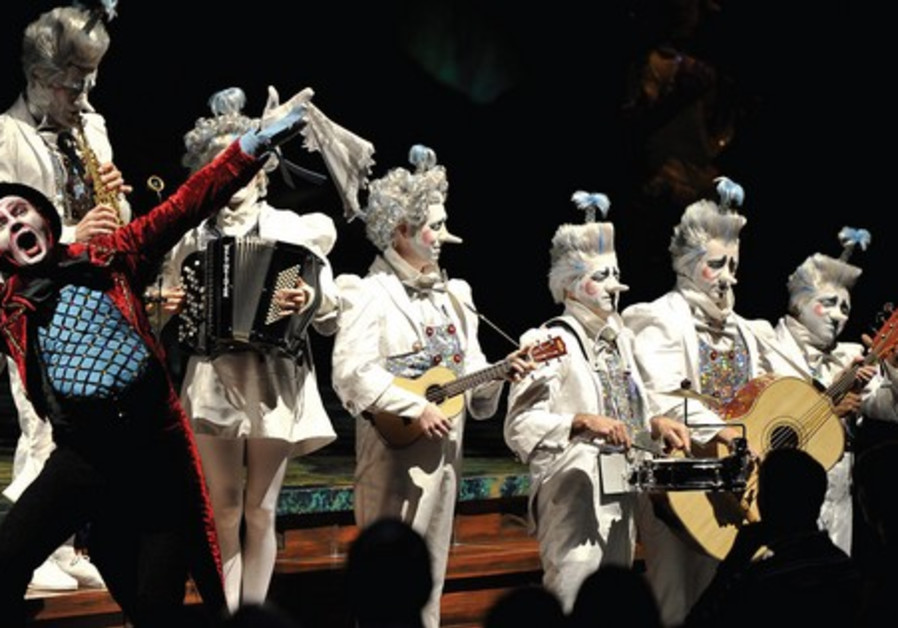 Cirque du Soleil's 'Alegria' in Tel Aviv