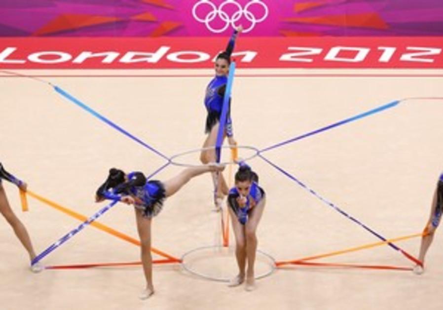 Israei gymnastics team in London