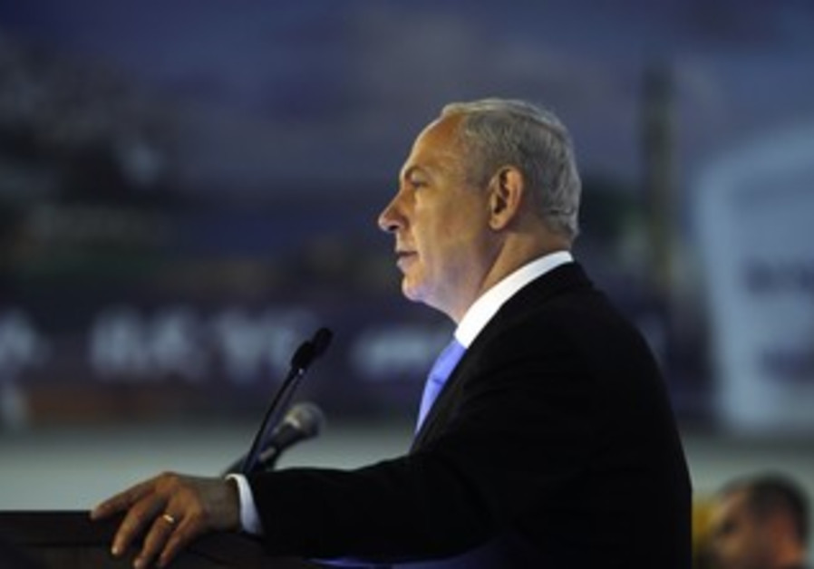 PM Netanyahu speaks to Jewish immigrants at BGU