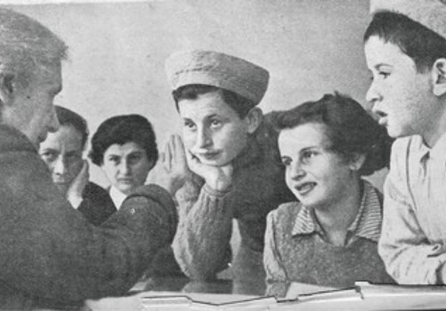 HENRIETTA SZOLD chats with Tehran Children