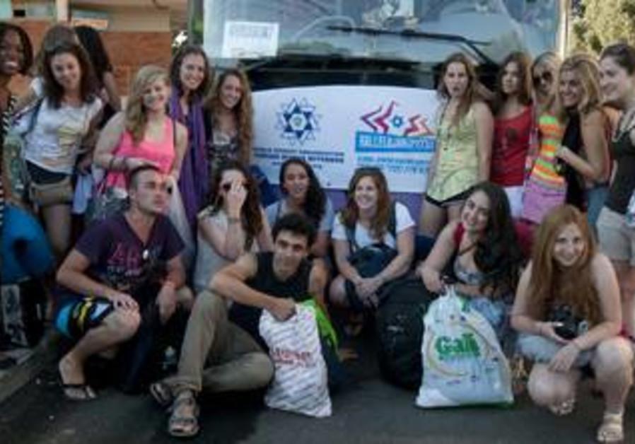 Contest Finalists Visit Israel