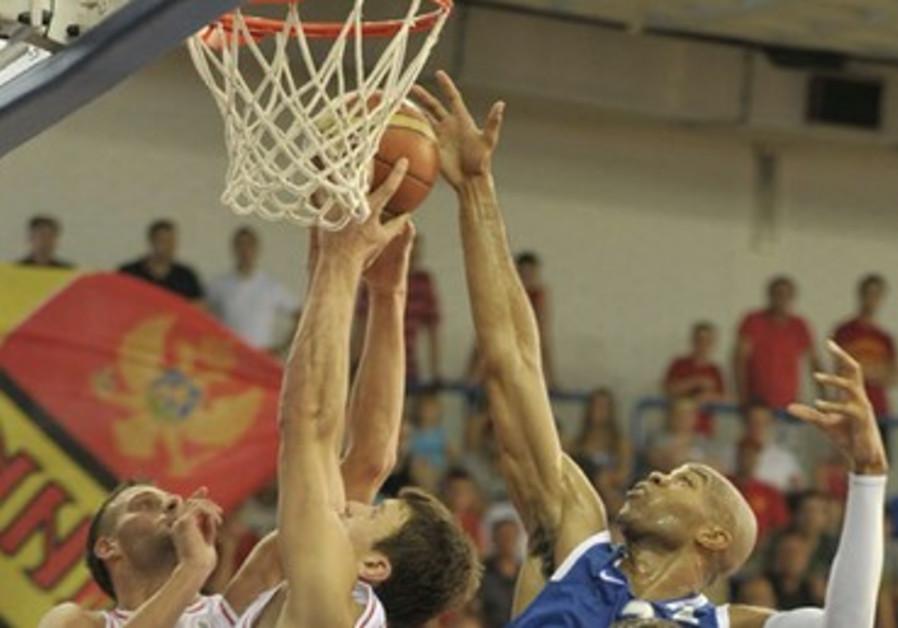 Israel- Montenegro game