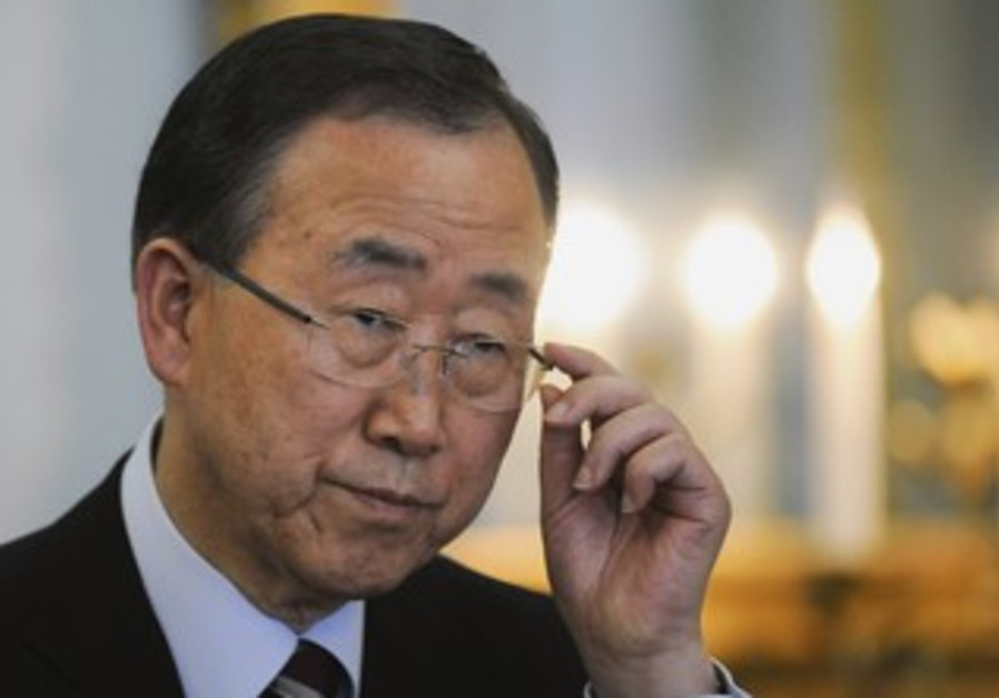 UN Secretary-General Ban Ki-moon [file photo]