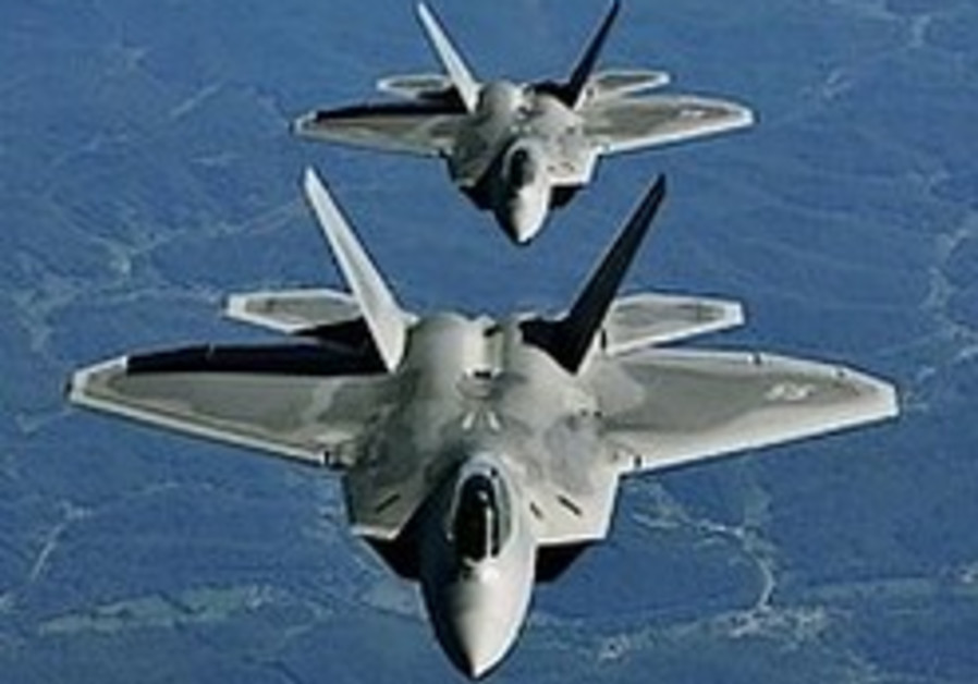 Israel hopes Congress will lift F-22 ban