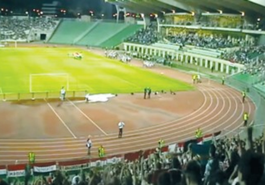 Video shows soccer fans in Hungary shouting