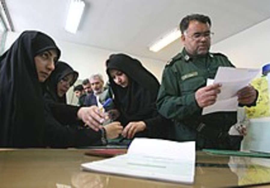 Low turnout reported in Iran elections