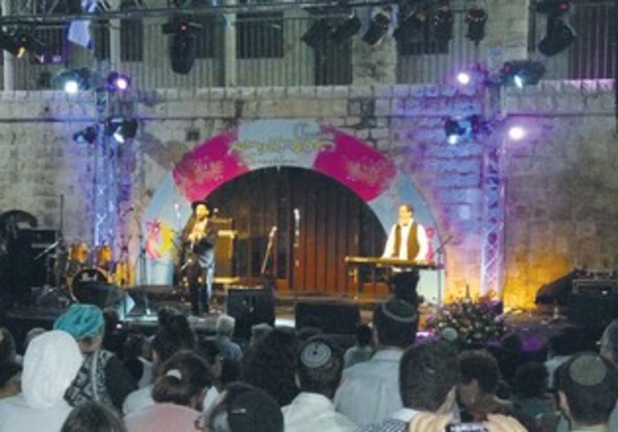 25th annual Klezmer Festival in Safed