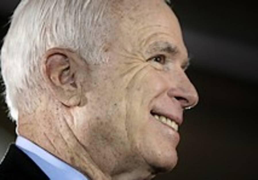 McCain: Iraq troop pullout bad for Israel