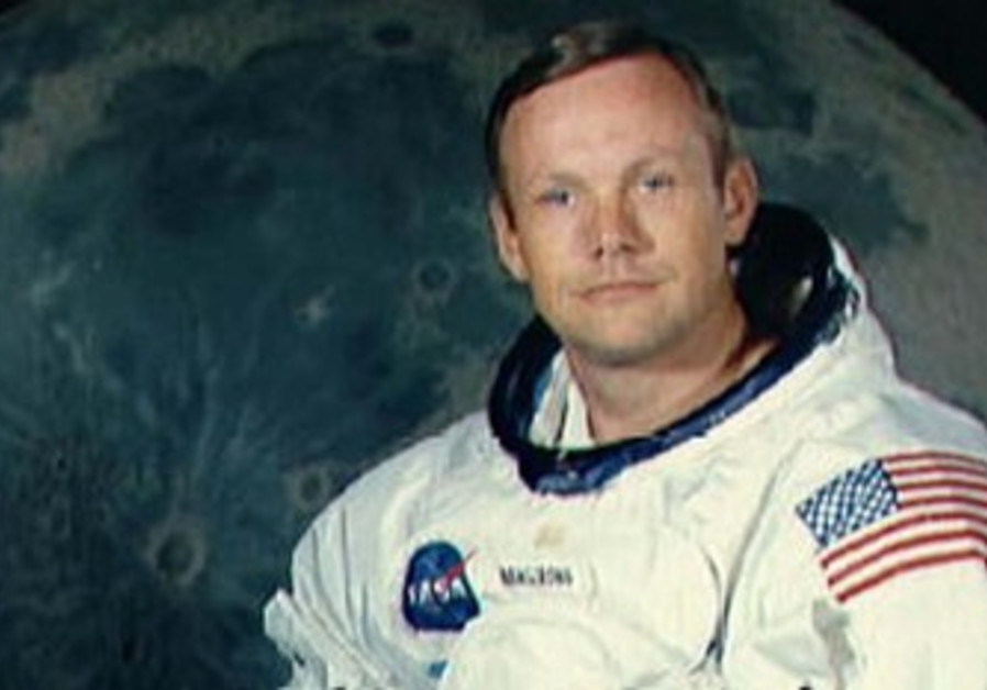 US Astronaut Neil Armstrong.