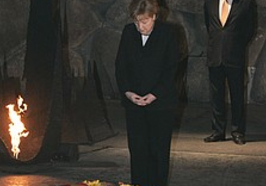 Analyze This: What Merkel should say in German from the Knesset podium