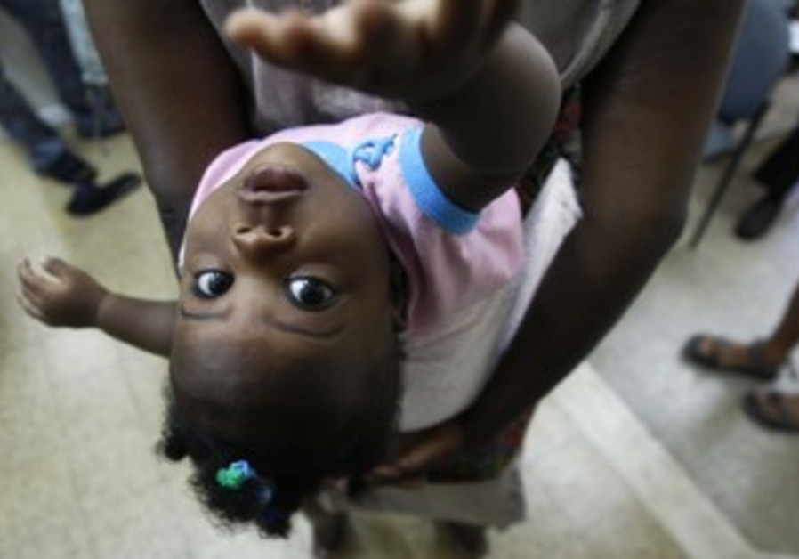 A young African girl in Israel [file photo]
