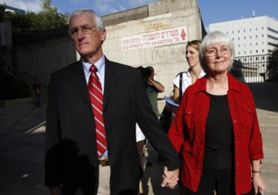 Craig and Cindy, the parents of Rachel Corrie