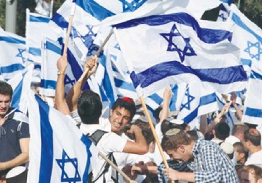 Zionist rally in Jerusalem