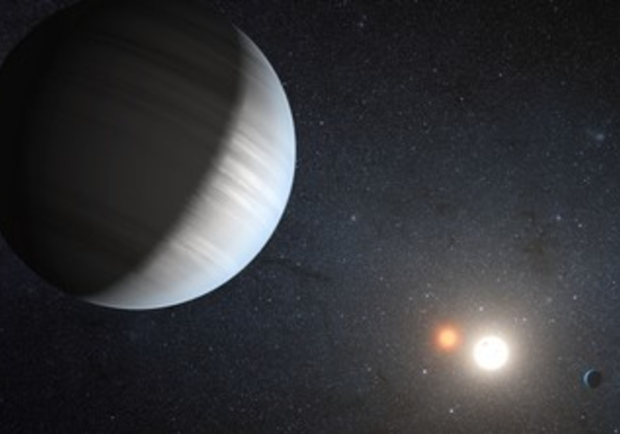 NASA handout illustrating Kepler-47