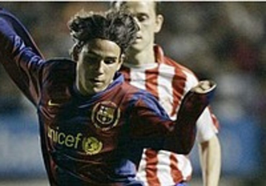 18-year-old Assulin shows potential in Barca debut