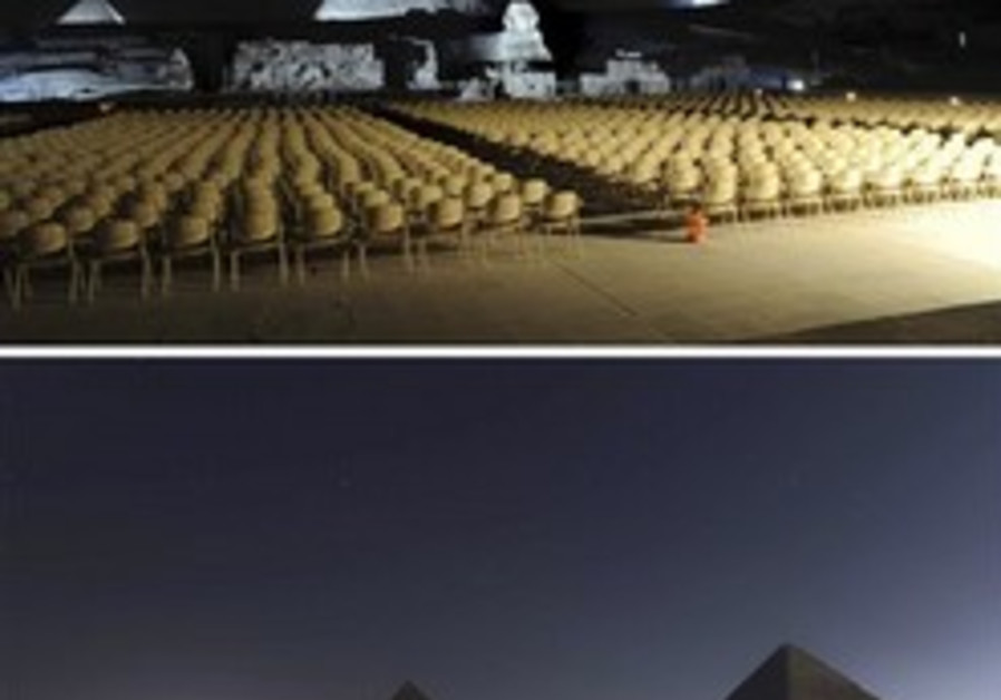 From Antarctica to the Pyramids: Lights dim for Earth Hour