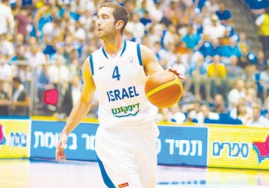 Israel National Team guard Yogev Ohayon