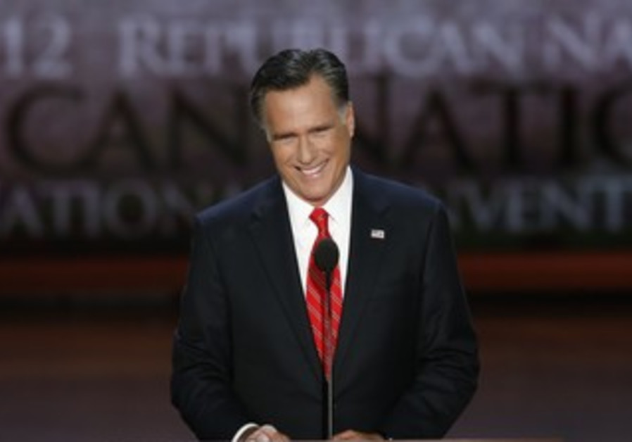 Romney accepts Republican nomination at RNC