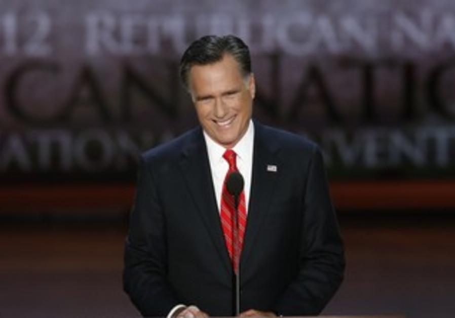 Romney accepts Republican nomination at RNC